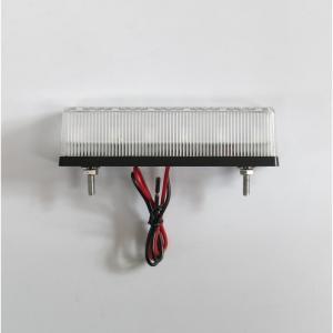 トラック用品 YAC CE-242 流星Re6LED車高灯ランプ クリアレンズ/LED橙(24V用)|route2yss|06