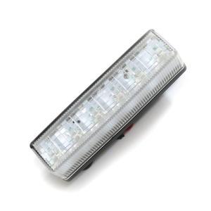 トラック用品 YAC CE-245 流星Re6LED車高灯ランプ クリアレンズ/LED青(24V用)|route2yss|04