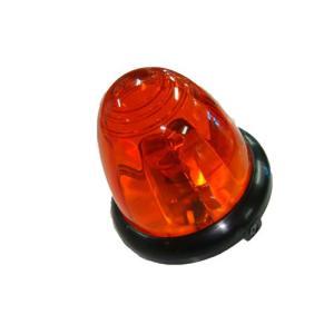 トラック用品 YAC YT452 Pトップバスマーカーランプ(アクリルレンズ仕様)オレンジ(電球付)|route2yss