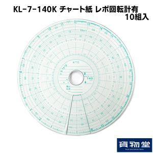 KL-7-140K チャート紙 レボ回転計有(10組入)|route2yss