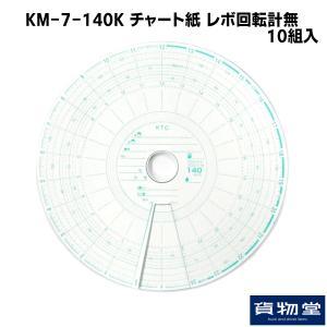 KM-7-140K チャート紙 レボ回転計無(10組入)|route2yss