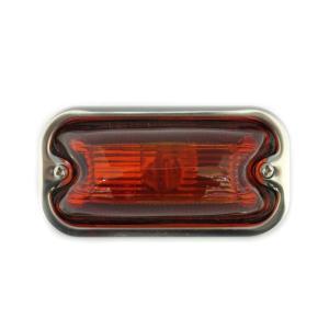 トラック用品 S-80DX 角型マーカーランプ オレンジ(24V6W電球付)|route2yss