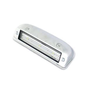 ATS高輝度ホワイトLED内臓メッキ路肩灯ランプ(12/24V共用)|route2yss