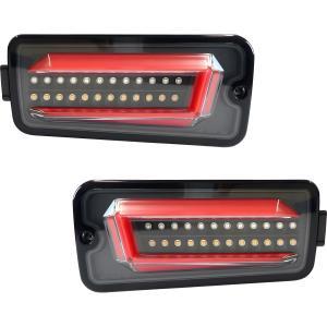 3302460 トラック用品 BWシーケンシャルフルLEDテール ダイハツハイゼットS500系 ブラック【代引き不可】|route2yss