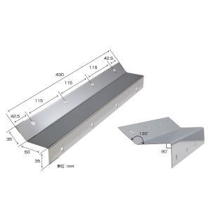 トラック用品 ジェットイノウエ522077 JETイノウエ 泥除け巻き込み防止板2枚組 430mm×50mm|route2yss
