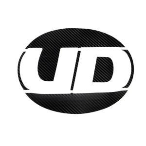 トラック用品 ジェットイノウエ 524442 カラーエンブレムステッカー UD用 カーボンブラック|route2yss