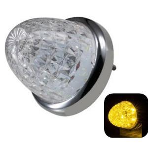 トラック用品 ジェットイノウエ532612 LEDスターライトバスマーカー零(ゼロ) クリアレンズ/イエロー|route2yss