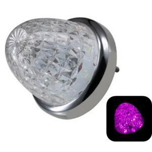 トラック用品 ジェットイノウエ 532615 LEDスターライトバスマーカー零(ゼロ) クリアレンズ/ピンク route2yss