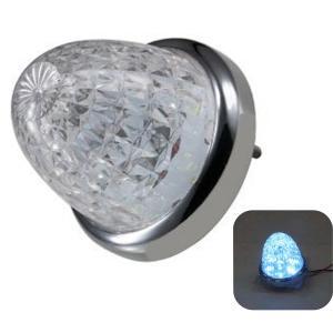 532616 トラック用品 ジェットイノウエ LEDスターライトバスマーカー零(ゼロ) クリアレンズ/アイスブルー|route2yss