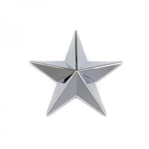 トラック用品ジェットイノウエ592173 星マーク クローム 80mm|route2yss