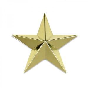 トラック用品ジェットイノウエ592182 星マーク ゴールド 95mm|route2yss