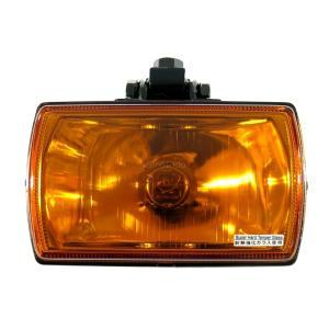 トラック用品 PIAA X0276A 角型スポットランプ 黄橙(24V70Wハロゲンバルブ付)|route2yss