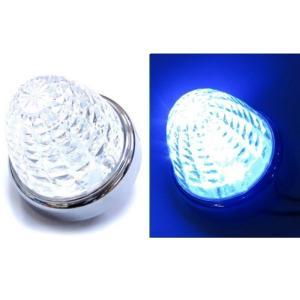 トラック用品 LSL205B JB激光LEDクリスタルハイパワーマーカークリアレンズ/LEDブルー|route2yss