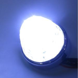 トラック用品 LSL206W JB激光LEDクリスタルハイパワーマーカークリアレンズ/LEDホワイト|route2yss|02