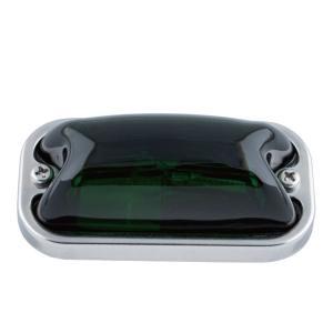 トラック用品 ジェットイノウエ JET 633943 角型マーカーランプ(前方開閉式用)24V6W球付き グリーン|route2yss
