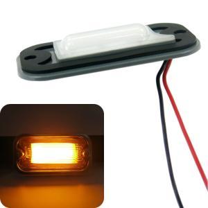 トラック用品 ジェットイノウエ634988 LED7角型マーカーランプ用LEDユニット 24V アンバー|route2yss