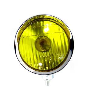 トラック用品 ATS 4・1/2フォグランプ イエロー(24V35W電球付き)|route2yss