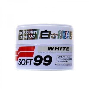 トラック用品 W-3 ソフト99 ニューソフト99 ハンネリWAX ホワイト|route2yss