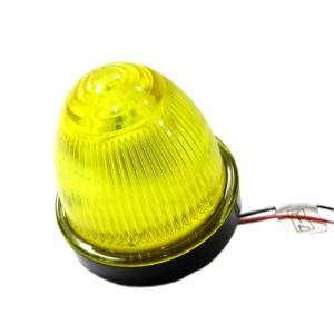 トラック用品 JB SM-8A LEDアクリルバスマーカーランプきら 24V イエロー(環境対策適合品)|route2yss