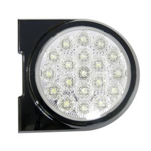 トラック用品 VS-L141VW+VS-L3D LED丸型後退灯 12/24V共用|route2yss