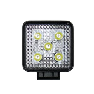 トラック用品 LSL-1002B LED作業灯ワークランプ角型(12/24V共用)|route2yss