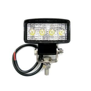 トラック用品 LSL-1010A LED作業灯ワークランプ角型コンパクト 12/24V共用|route2yss