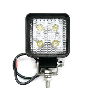 トラック用品 LSL-1011A LED作業灯ワークランプ角型コンパクト 12/24V共用|route2yss