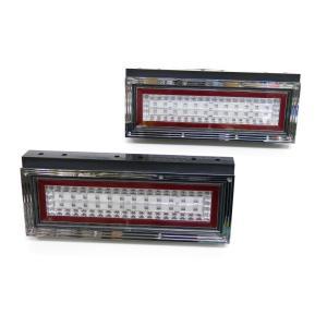 トラック用品 花魁コンボミニ2tトラック用LEDテールランプL&Rセット DC12V・24V対応|route2yss|05