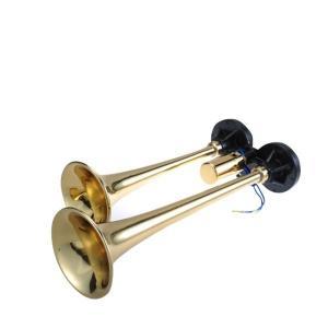 D412 ニッケン D型ブラスヤンキーホーン 真鍮|route2yss