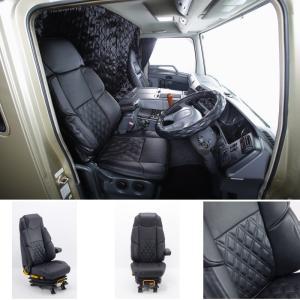 トラック用品 グランドダイヤプレミアムシートカバー 三菱ふそう07スーパーグレート 運転席用|route2yss