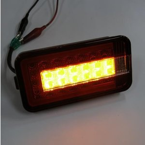 トラック用品 SCRC-01 ステラファイブ軽トラ用LEDテールランプL&R レッド/クリア|route2yss|06