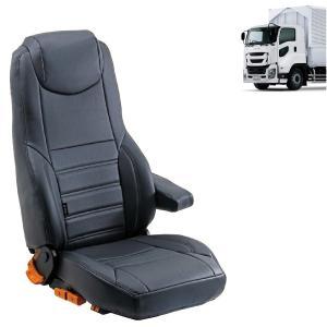 トラック用品 グレイスNEWリミックスシートカバー(運転席用) いすゞファイブスターギガ用|route2yss