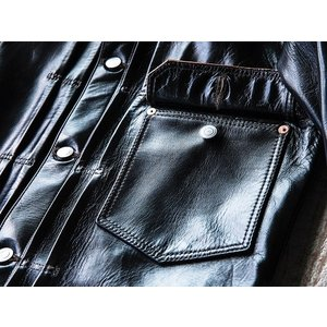 FINE CREEK LEATHERS(ファインクリークレザーズ)〜Richmond Black〜|route66amboy|05