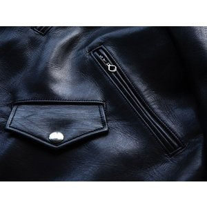 FINE CREEK LEATHERS(ファインクリークレザーズ)〜Leon The Nostar Black〜 route66amboy 08