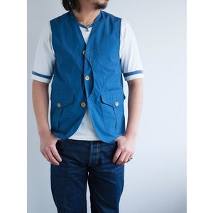 WORKERS(ワーカーズ)〜Cruiser Vest Blue〜|route66amboy