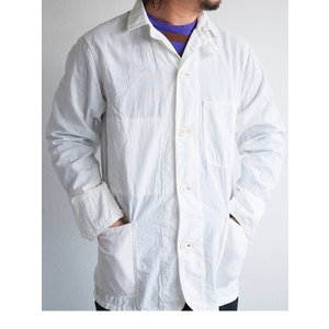 WORKERS(ワーカーズ)〜Light Railroad Jacket WHITE〜|route66amboy
