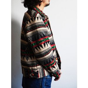 Dapper's(ダッパーズ)〜Native Pattern Blanket A-1 Style Jacket〜|route66amboy|02
