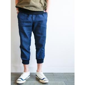 再入荷 YEALOW(イエロー)〜DENIM SWEAT CROPPED PANTS〜 route66amboy