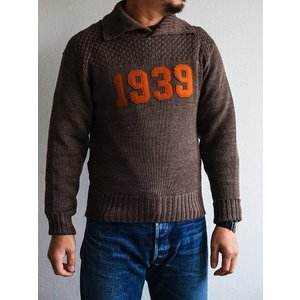 Dapper's(ダッパーズ)〜Three Button Turtleneck Knit 1939〜|route66amboy