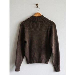 Dapper's(ダッパーズ)〜Three Button Turtleneck Knit 1939〜|route66amboy|05