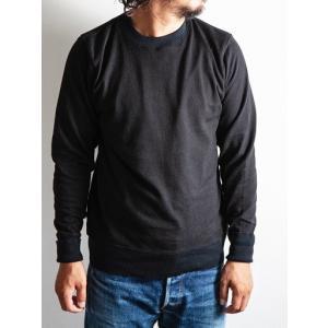 WORKERS(ワーカーズ)〜FC Knit,Midium Weight Crew Neck BLACK〜|route66amboy