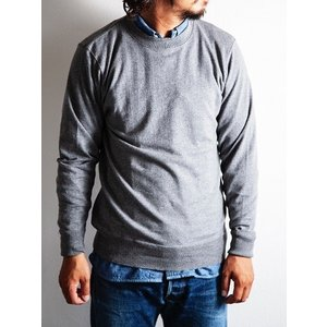 WORKERS(ワーカーズ)〜FC Knit,Midium Weight Crew Neck GRAY〜|route66amboy