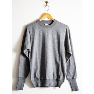 WORKERS(ワーカーズ)〜FC Knit,Midium Weight Crew Neck GRAY〜|route66amboy|04