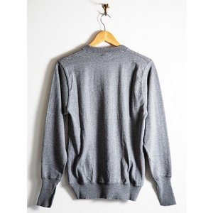 WORKERS(ワーカーズ)〜FC Knit,Midium Weight Crew Neck GRAY〜|route66amboy|05