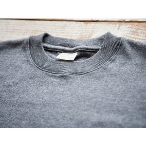 WORKERS(ワーカーズ)〜FC Knit,Midium Weight Crew Neck GRAY〜|route66amboy|06