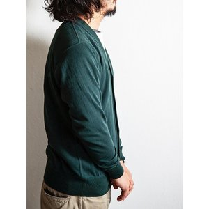 WORKERS(ワーカーズ)〜FC High Gauge Knit Cardigan Green〜|route66amboy|02