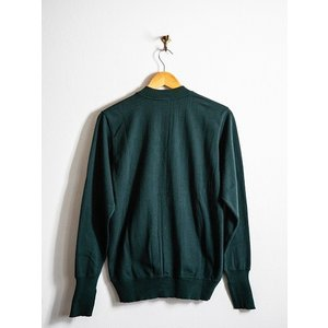 WORKERS(ワーカーズ)〜FC High Gauge Knit Cardigan Green〜|route66amboy|05