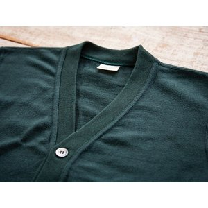 WORKERS(ワーカーズ)〜FC High Gauge Knit Cardigan Green〜|route66amboy|06