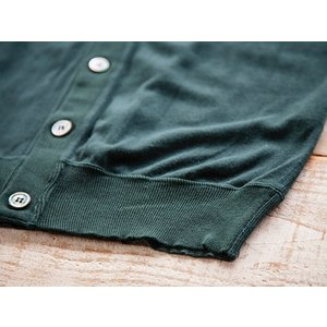 WORKERS(ワーカーズ)〜FC High Gauge Knit Cardigan Green〜|route66amboy|08