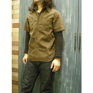 CUSHMAN(クッシュマン) ヒッコリーワークシャツ|route66amboy